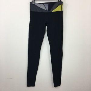 Lululemon reversible long black leggings size 6